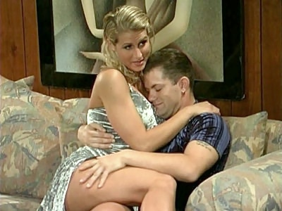 Big Tit Blonde Seduction